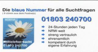 Die blaue Nummer